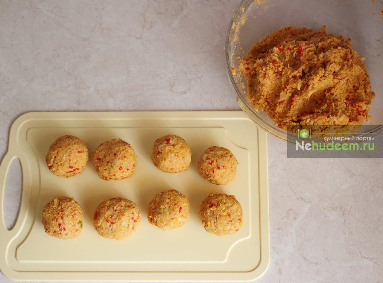 Фрикадельки с рисом рецепт с пошагово на сковороде