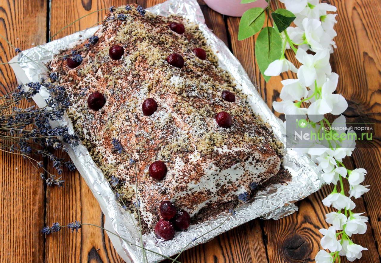 Торт монастырская изба рецепт пошагово без выпечки