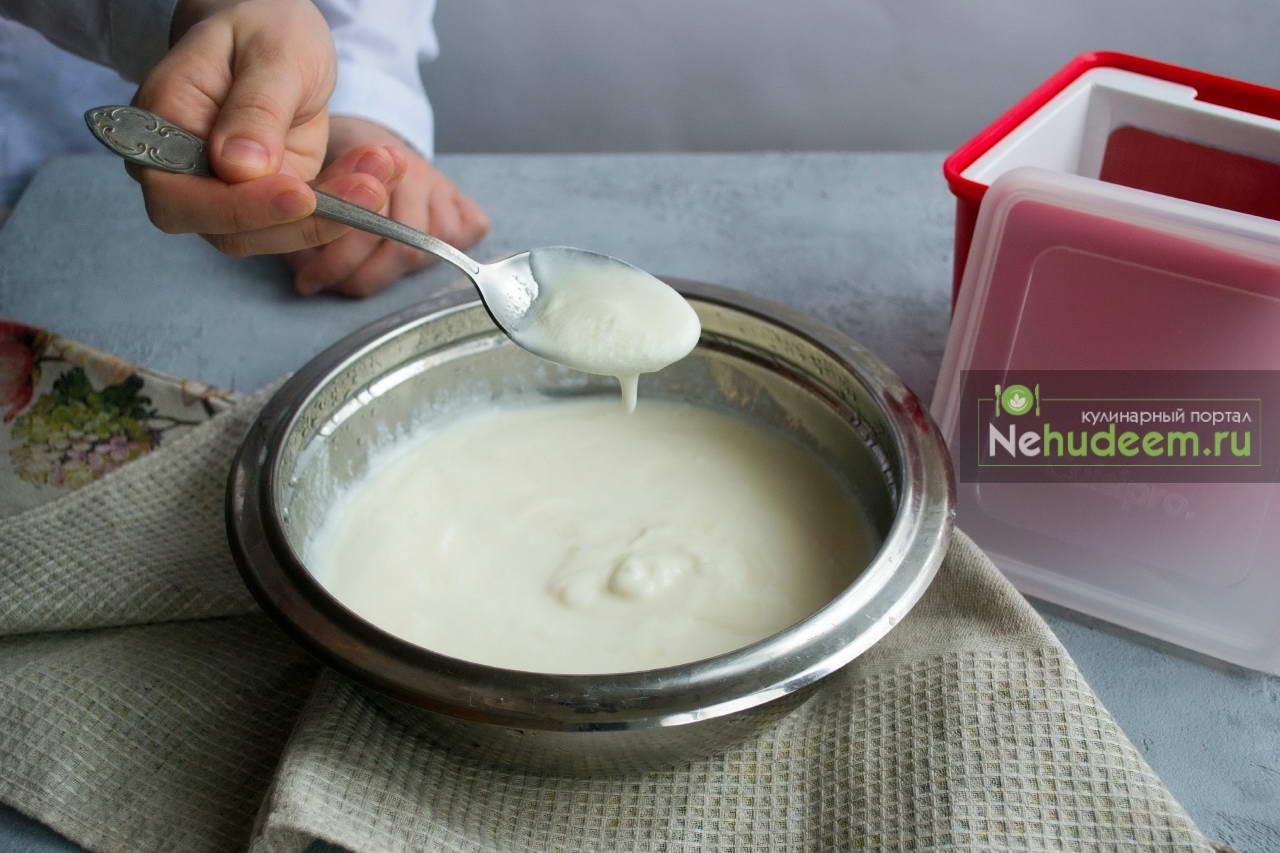 Йогурт из йогурта в домашних условиях рецепт