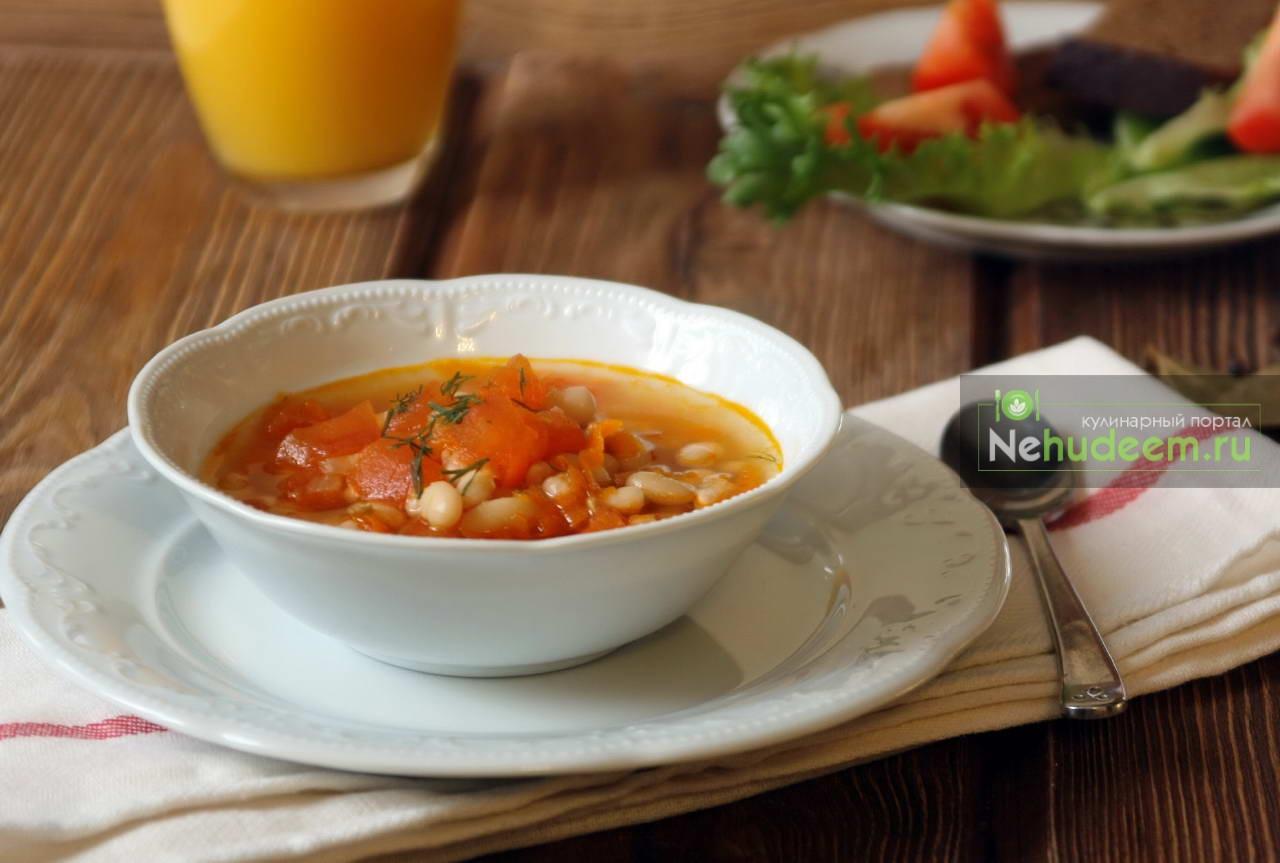 Супы из красной фасоли с пошаговыми