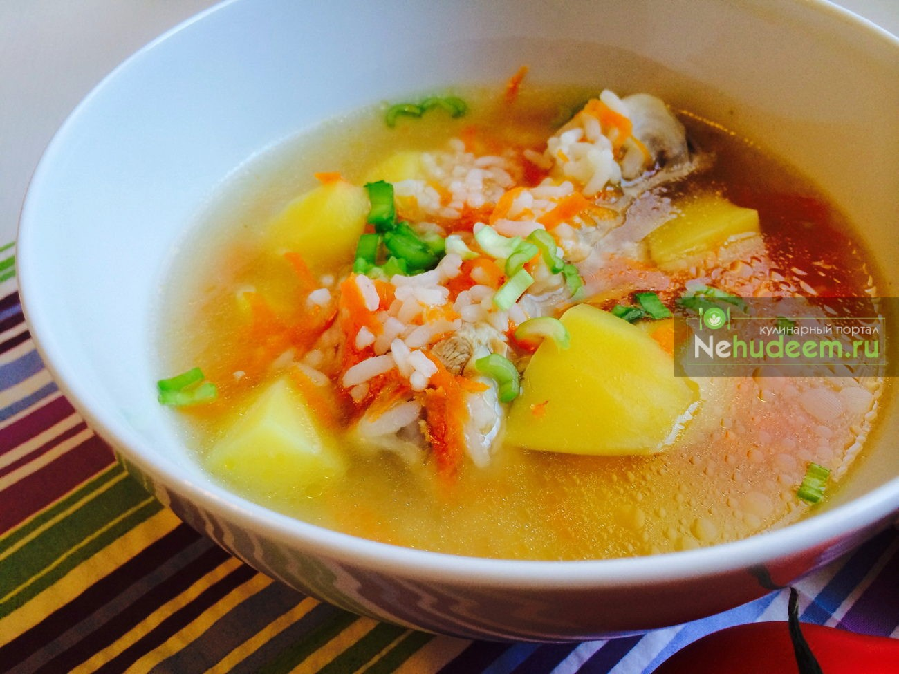 Рисовый суп с курицей рецепт с фото в мультиварке