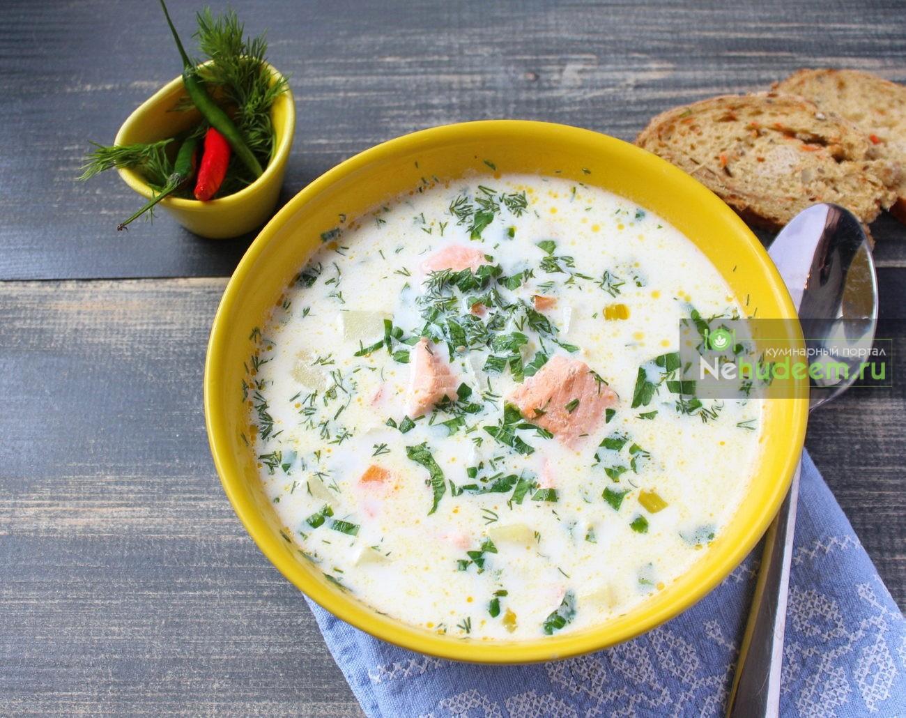 Суп из рыбы красной рецепт пошагово в