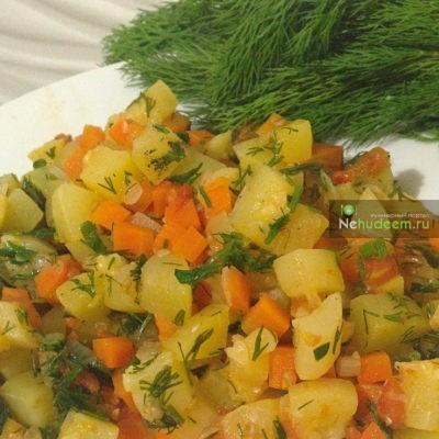 Пошаговый фото-рецепт овощного рагу