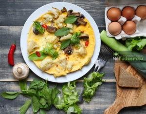 Пошаговый фото-рецепт фриттаты с цветной капустой