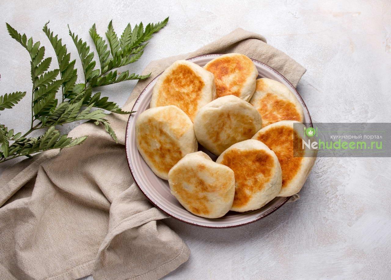Пирожки на сковороде с картофельной начинкой