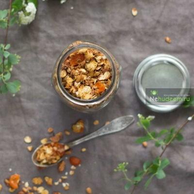 Пошаговый фото-рецепт апельсиновой гранолы