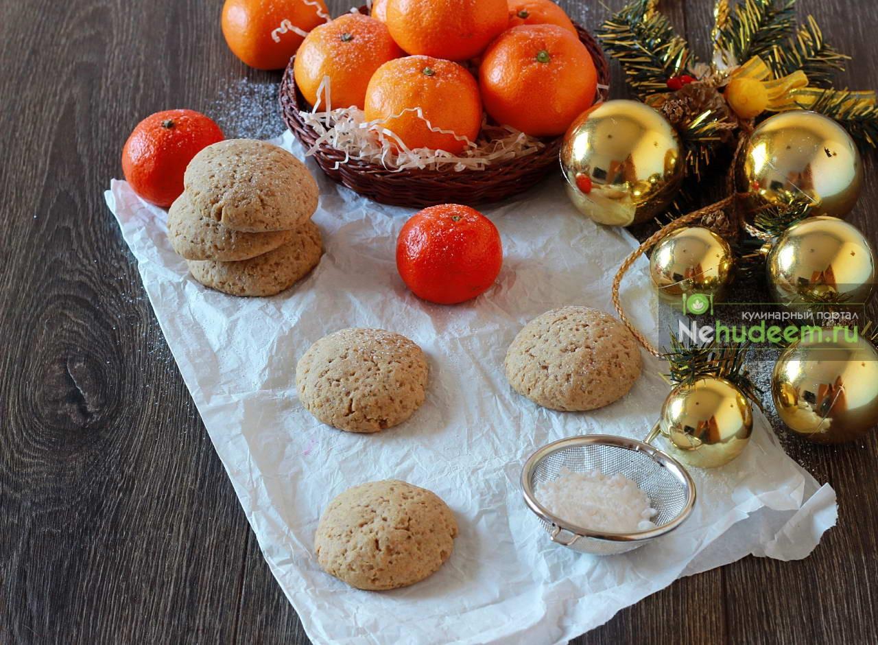 Рождественское ржаное печенье