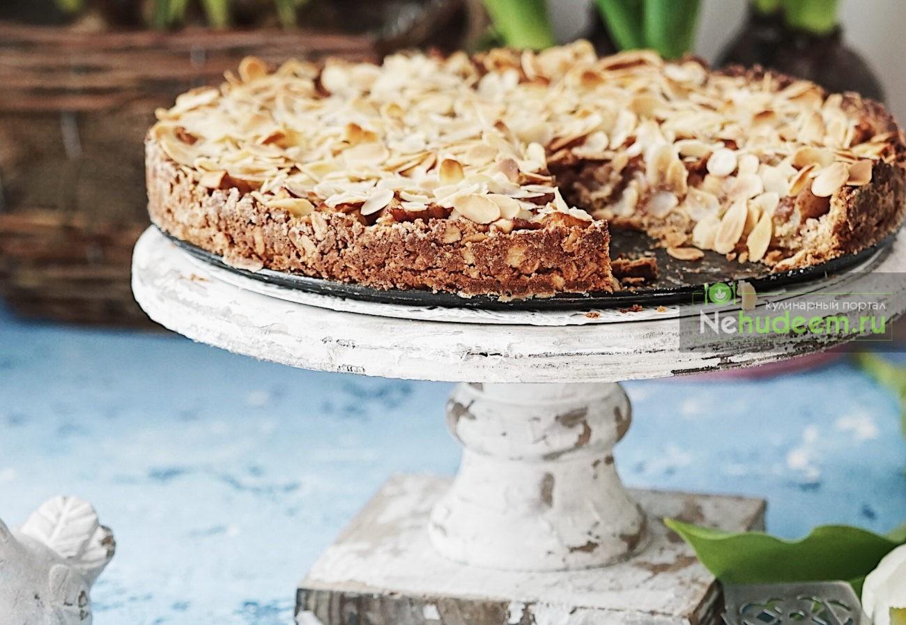 Тарт с пряной яблочной начинкой