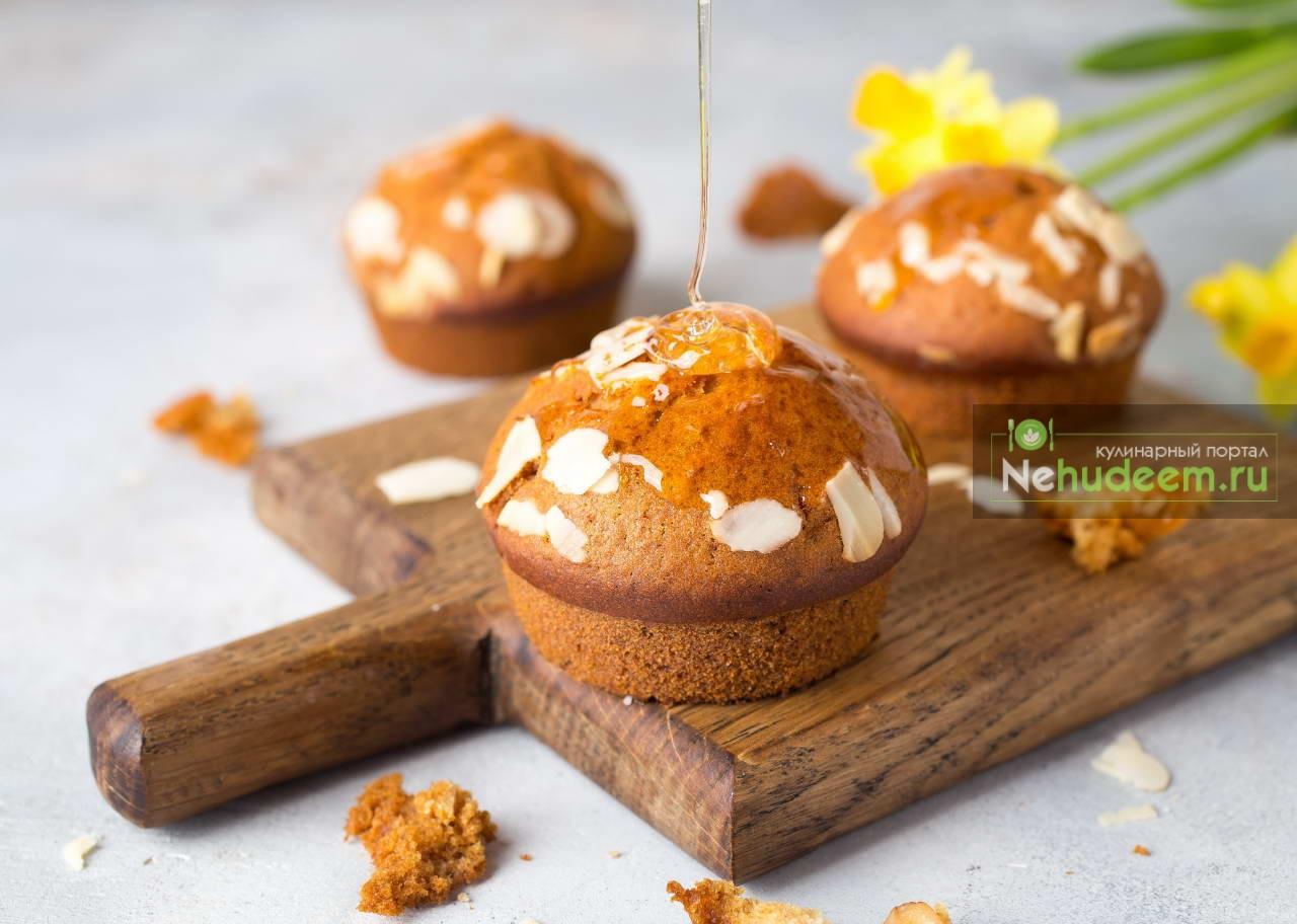 Постные медовые кексы