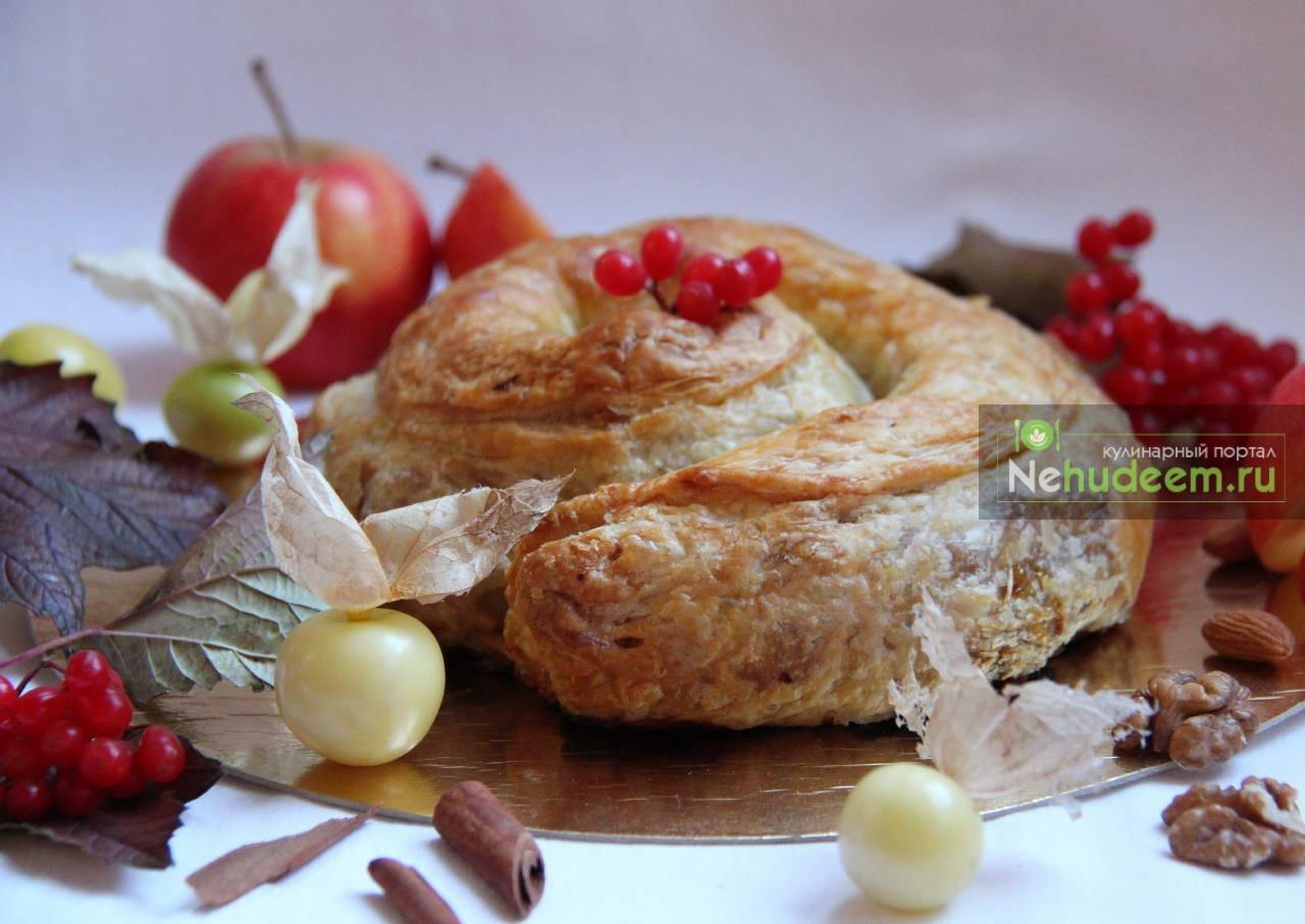 Яблочно-тыквенная вертута