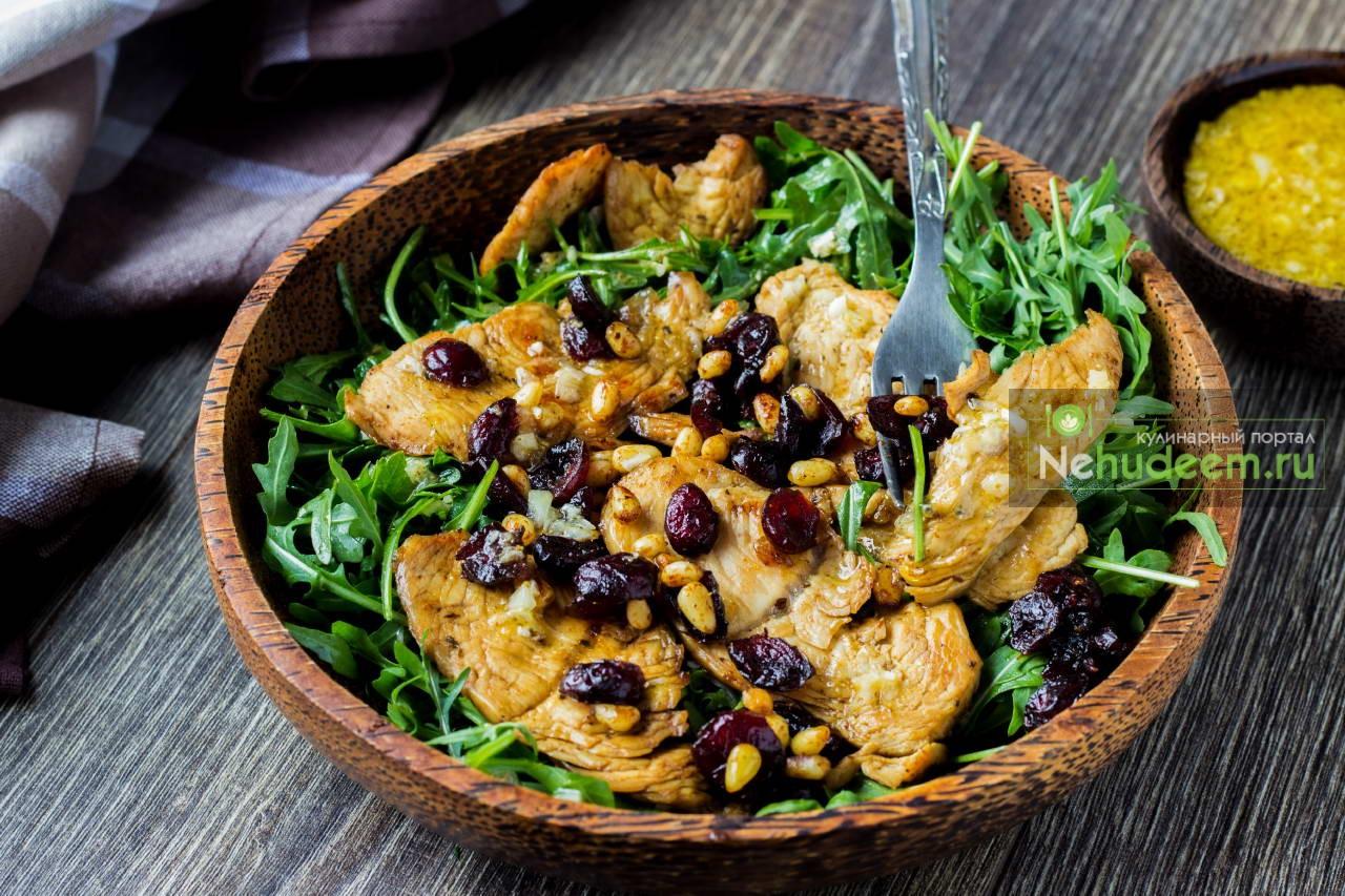 Пикантный салат из индейки от Джейми Оливера