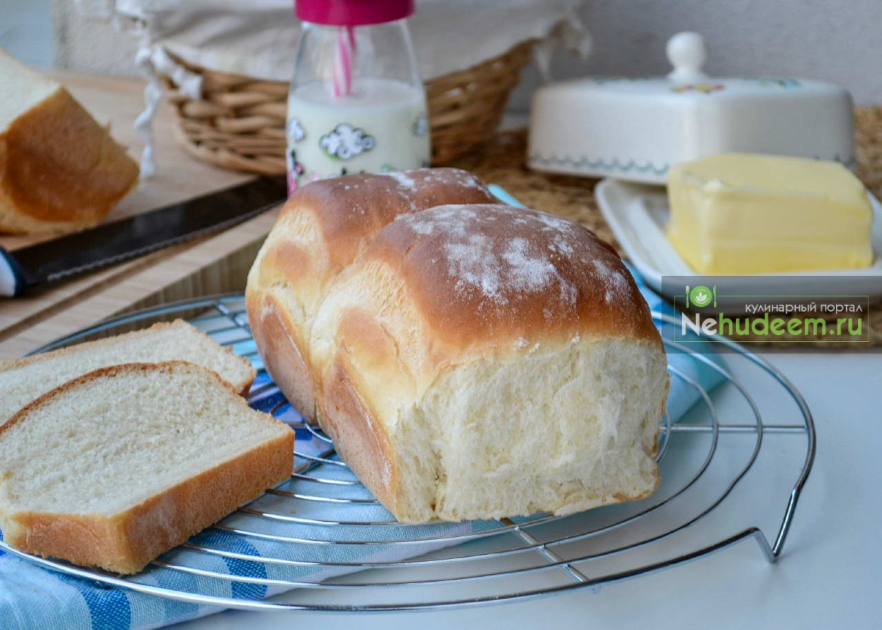 Домашний хлеб на молоке