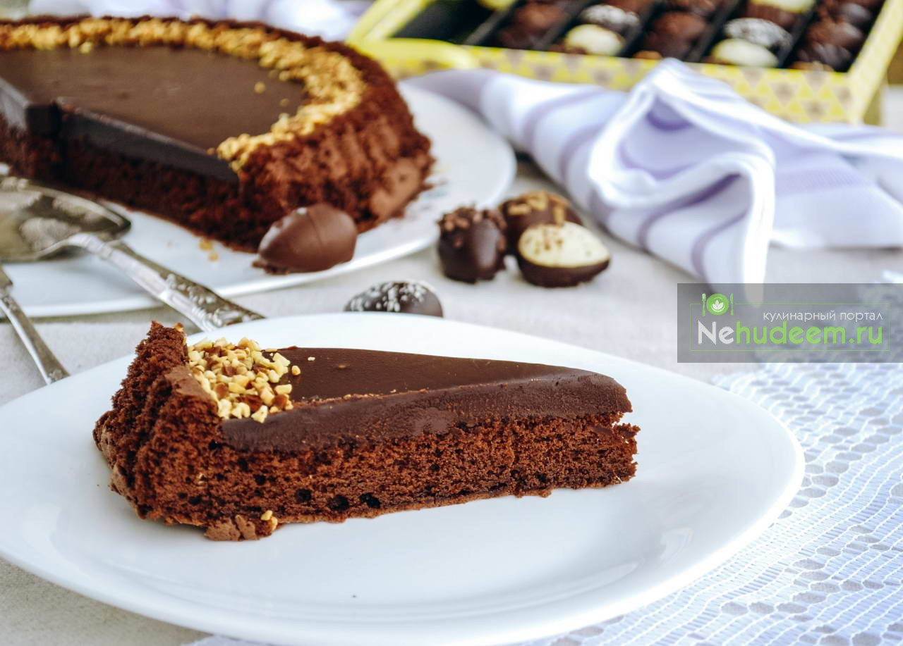 Итальянский шоколадный тарт