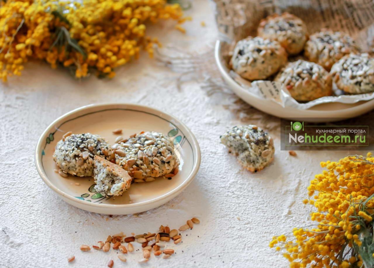 Постное печенье Семечки