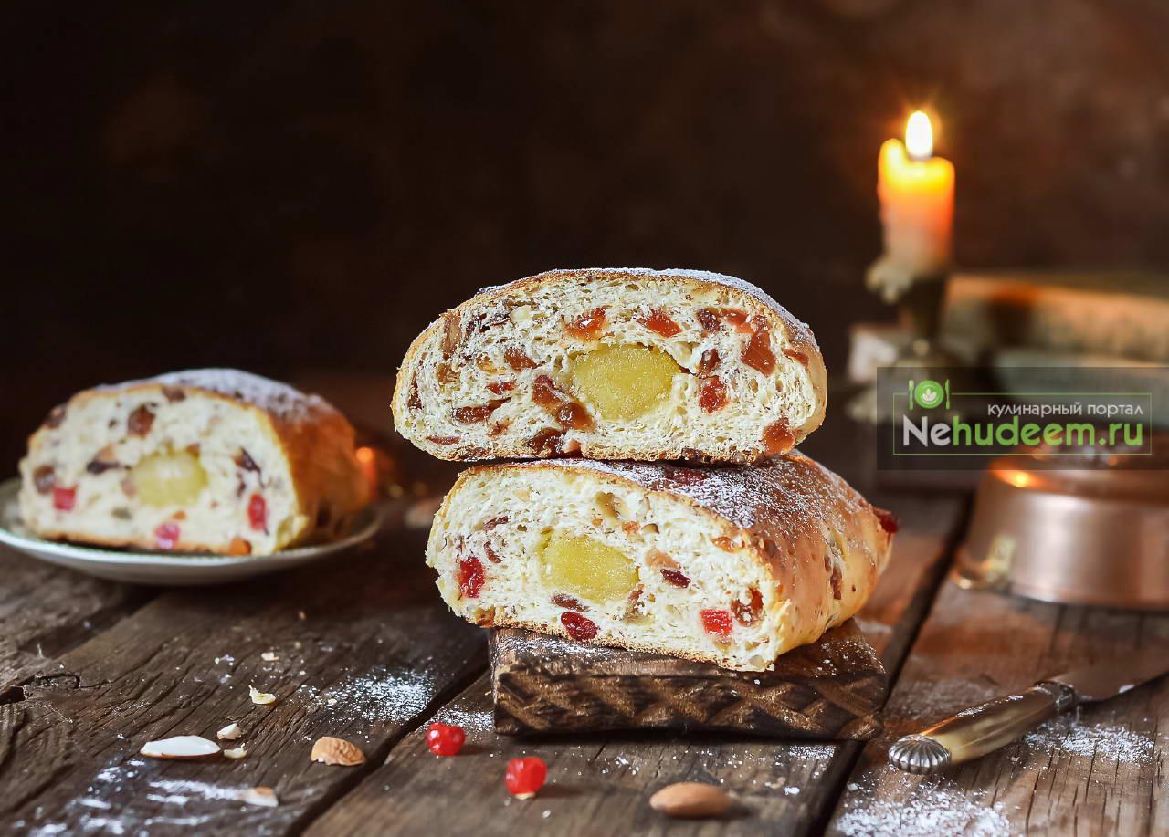 Голландский пасхальный хлеб Паасброд