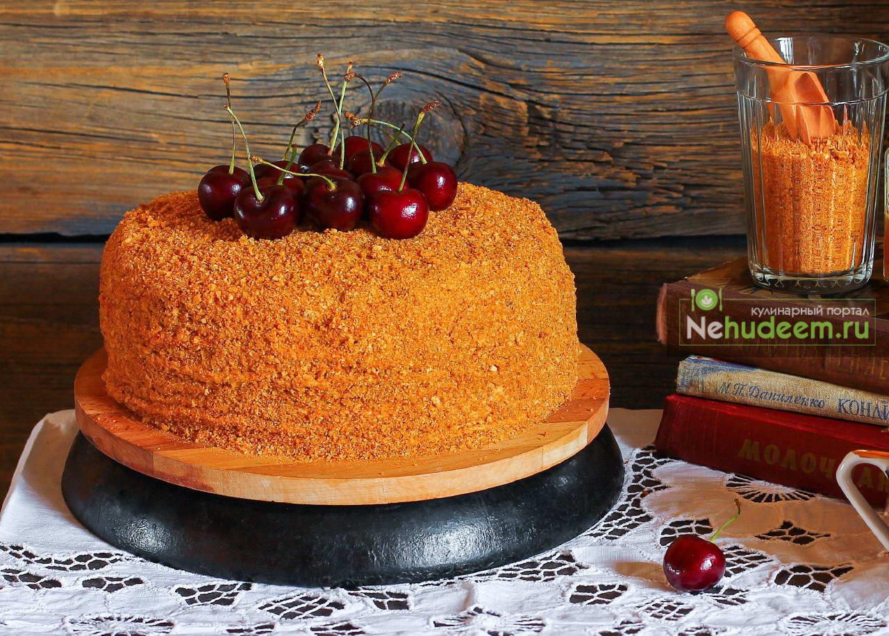 Торт Медовик от Олеси Куприн
