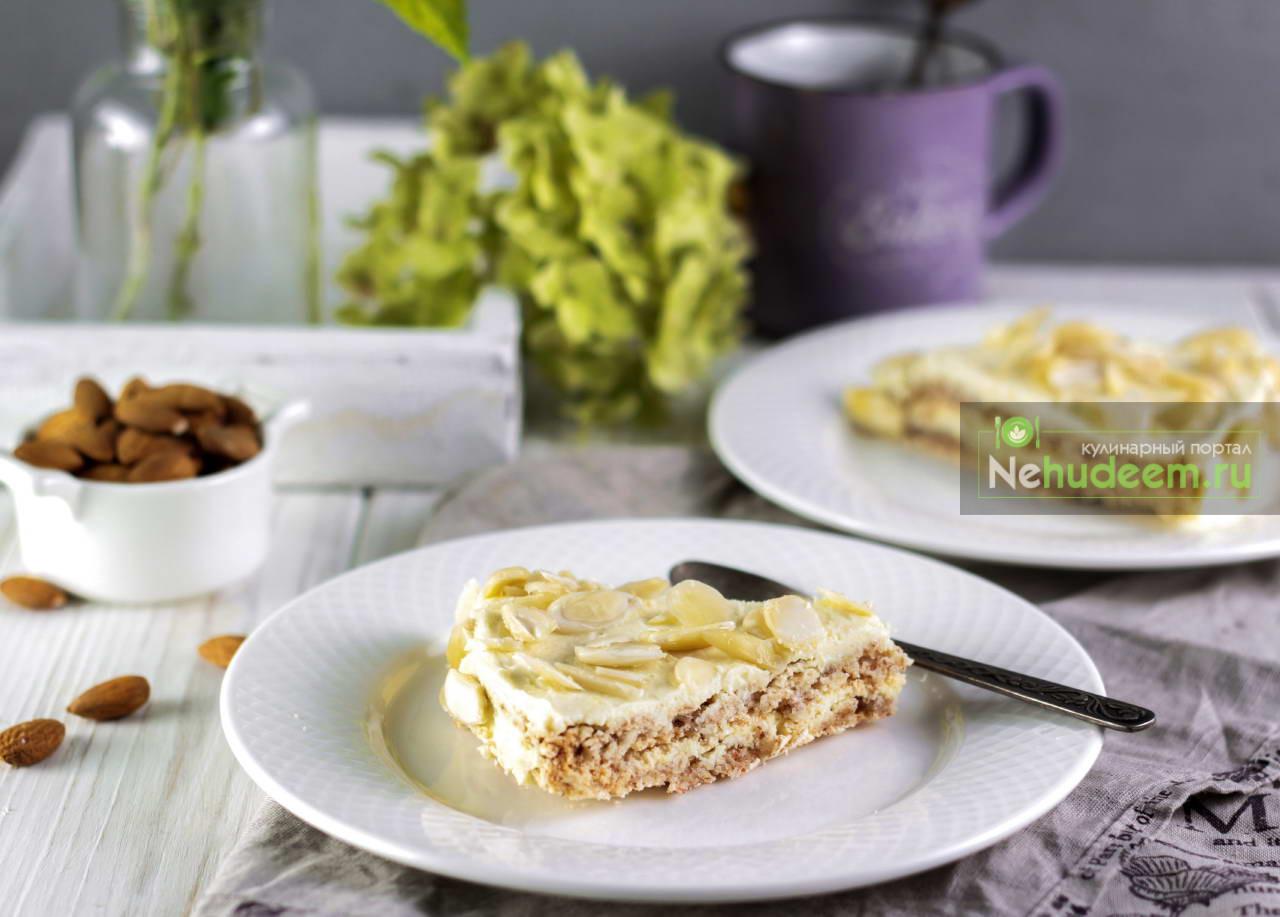 Шведский миндальный торт Мандель Тарта