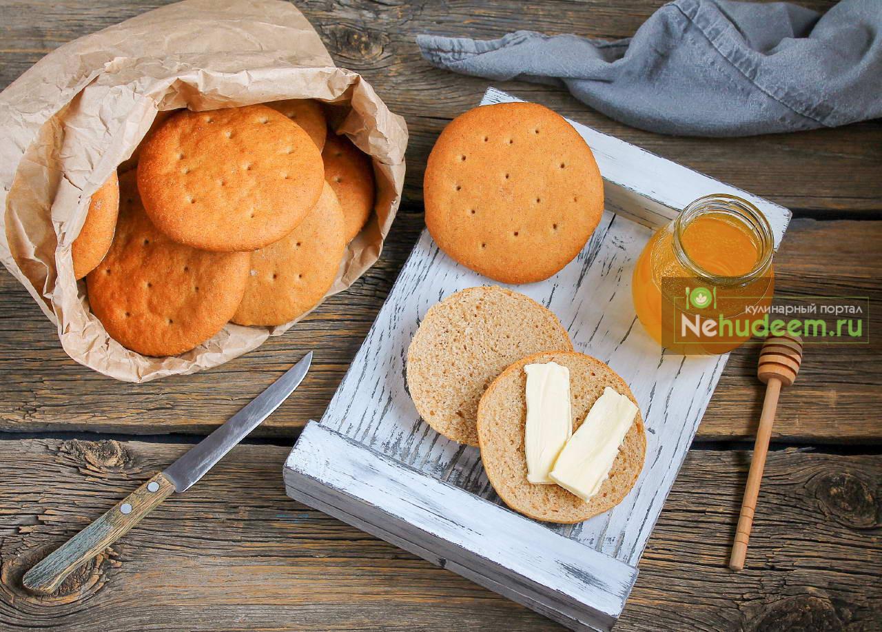 Шведские плоские булочки Поларбрё