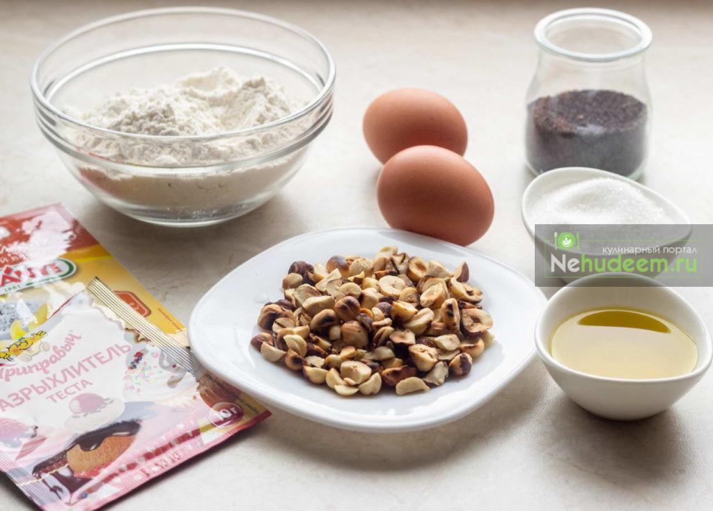 Бискотти с творогом и фундуком - рецепт пошаговый с фото