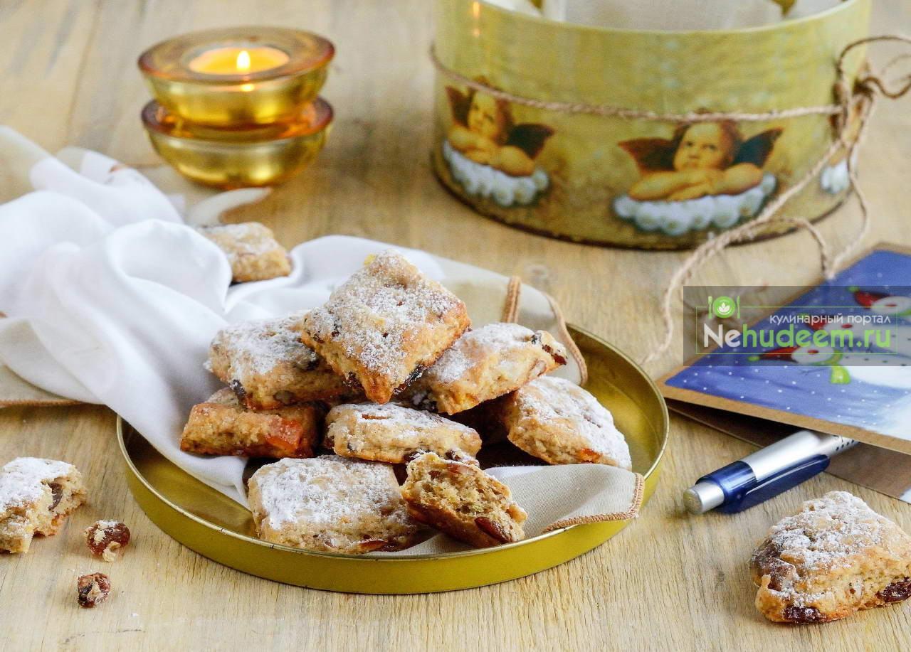 Немецкое печенье Миништоллен