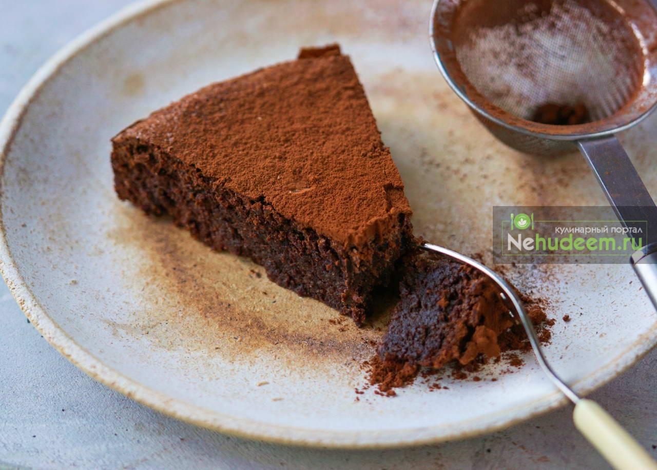 Итальянский шоколадный торт Капрезе
