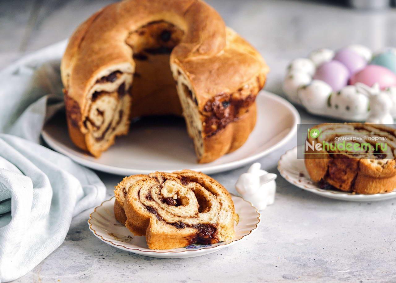 Каринтийский пасхальный пирог Osterreinling