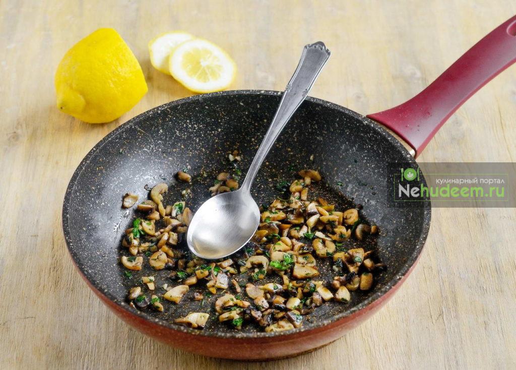 Брускетта с грибами - рецепт пошаговый с фото