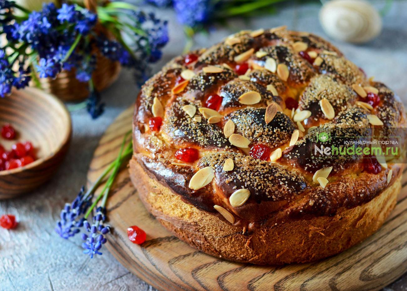 Пасхальный пирог Козунак