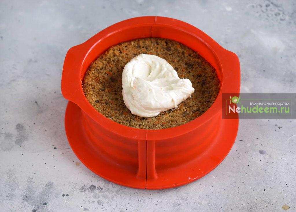 Морковно-яблочный пирог с орехами - рецепт пошаговый с фото
