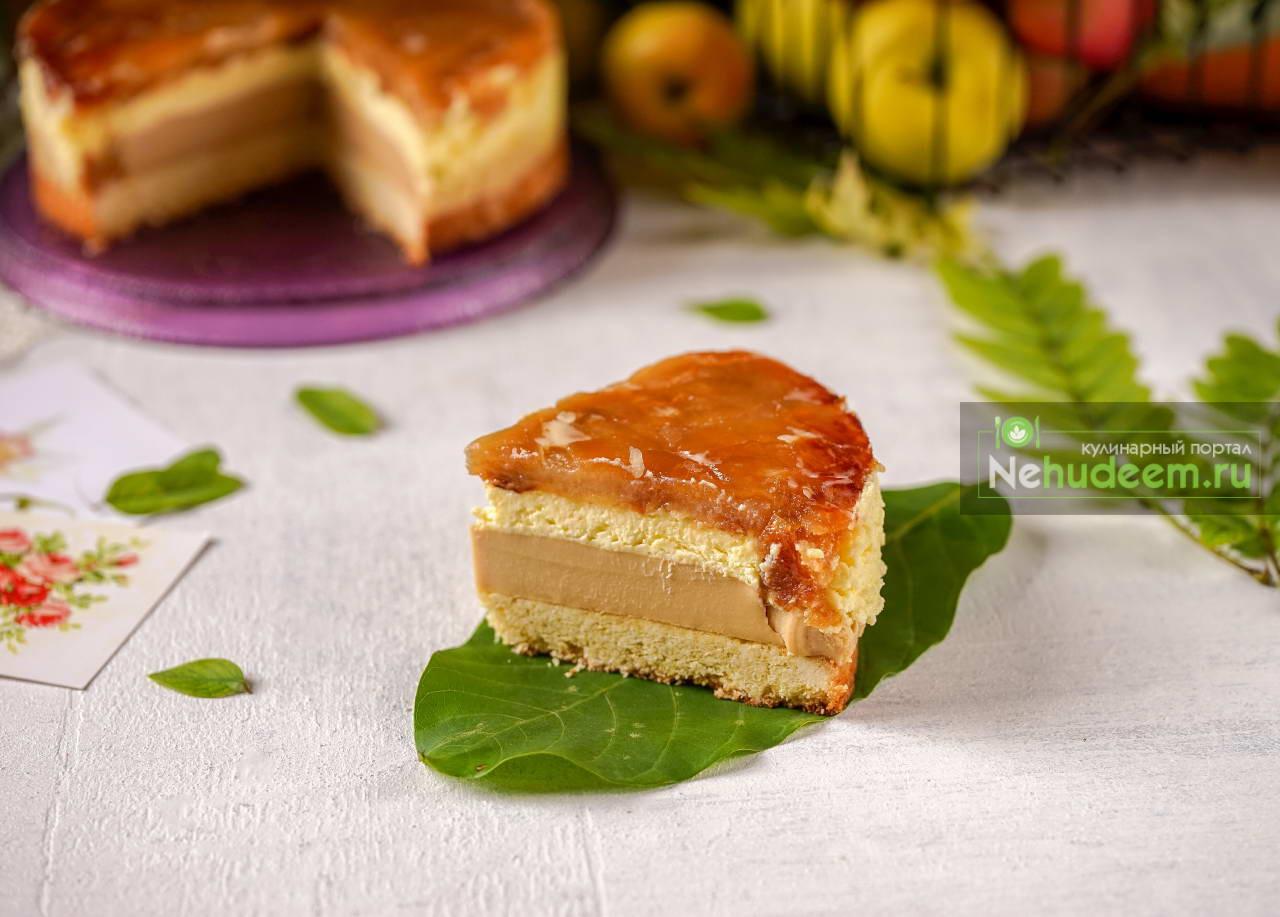 Десерт Карамельное яблоко