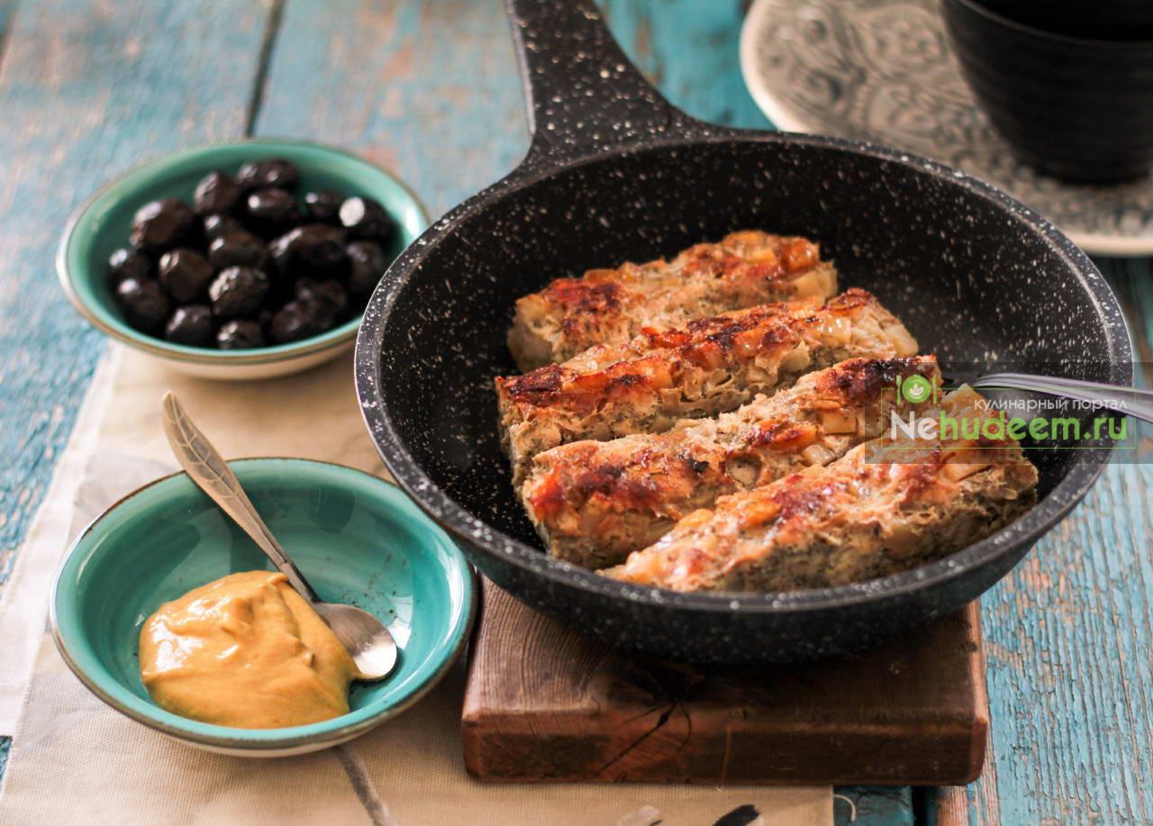 Домашние куриные колбаски с овощами