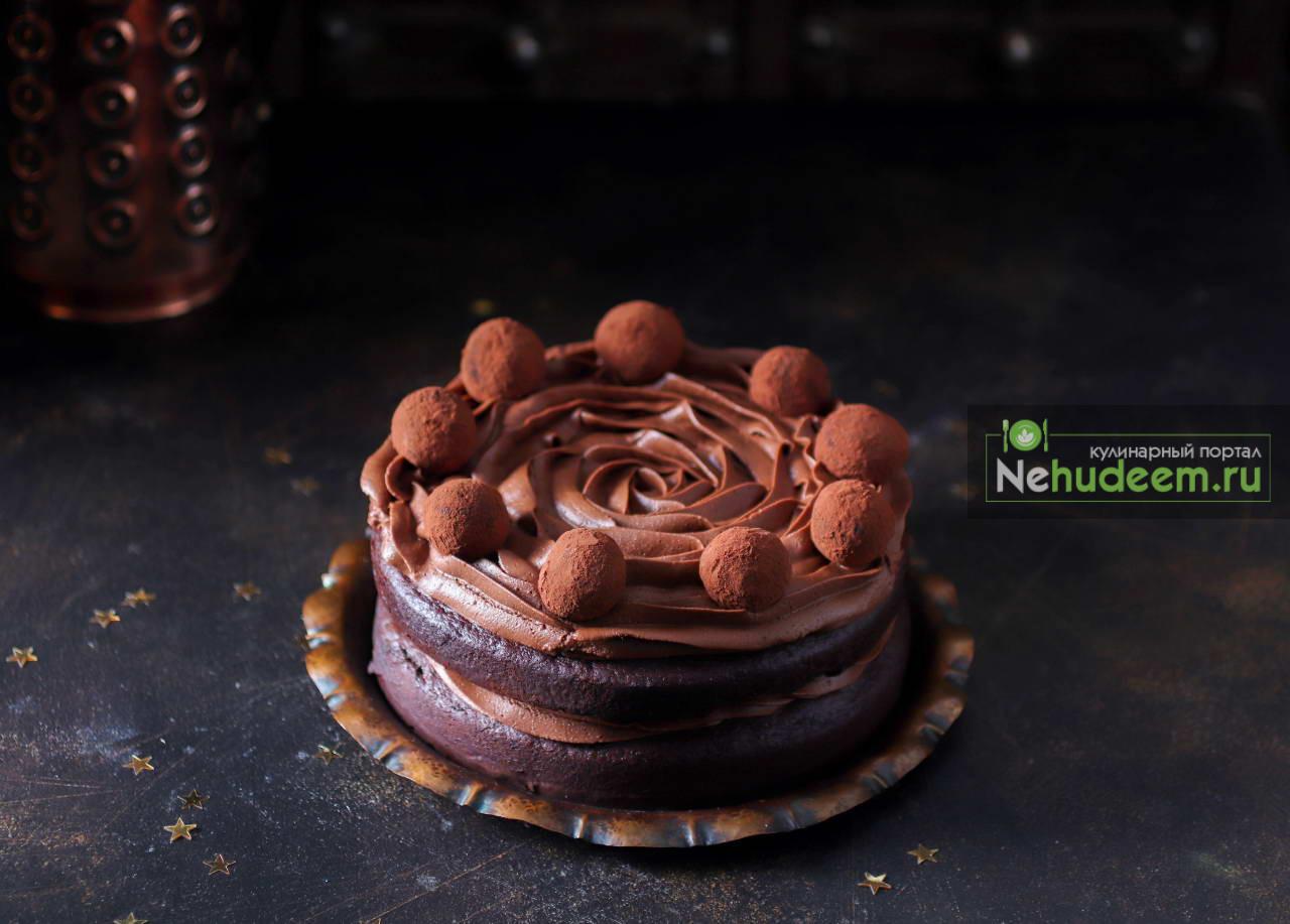 Шоколадный торт с Нутеллой от Анастасии Зурабовой