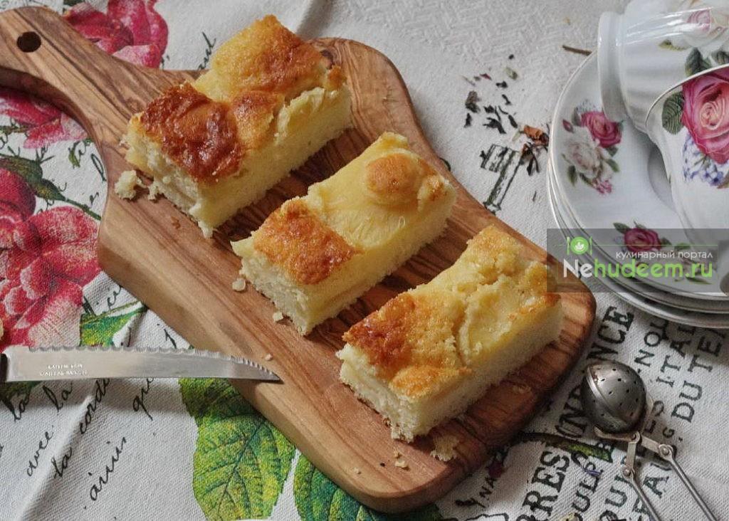 Кексы с ананасами в духовке - рецепт пошаговый с фото