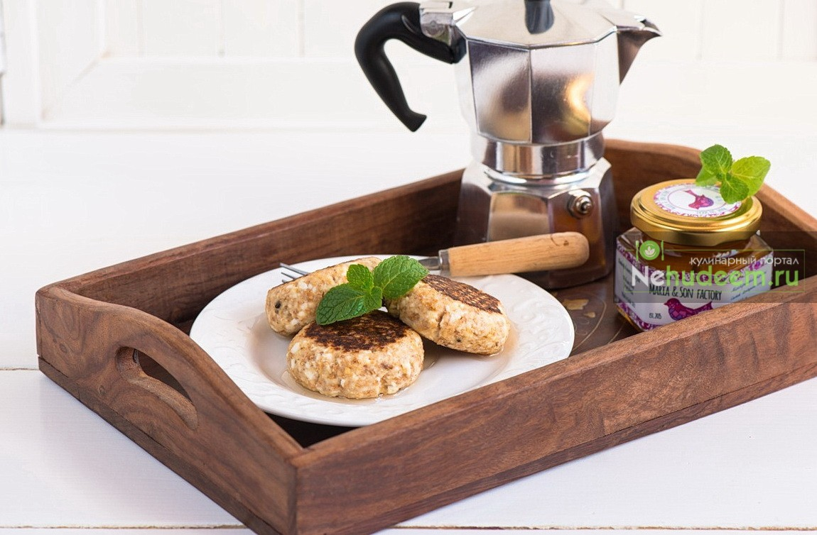Цитрусовые сырники с каштановым медом