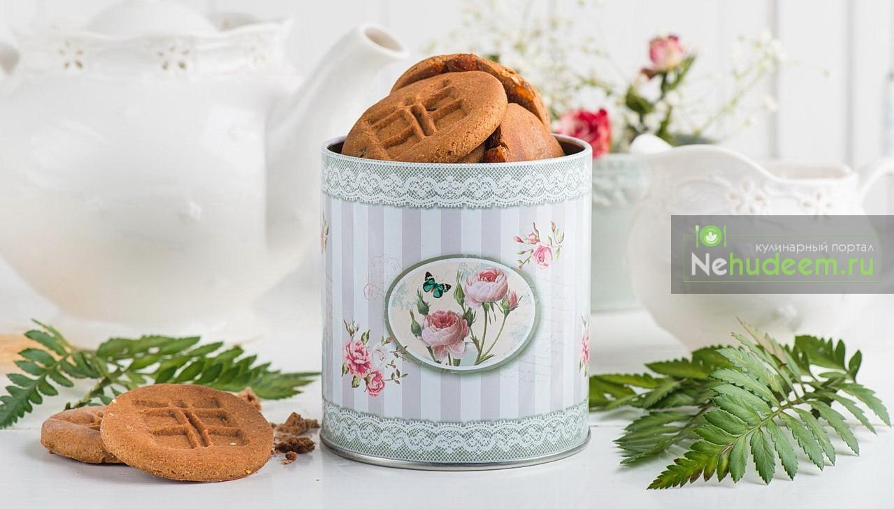 Гречнево-ореховое печенье