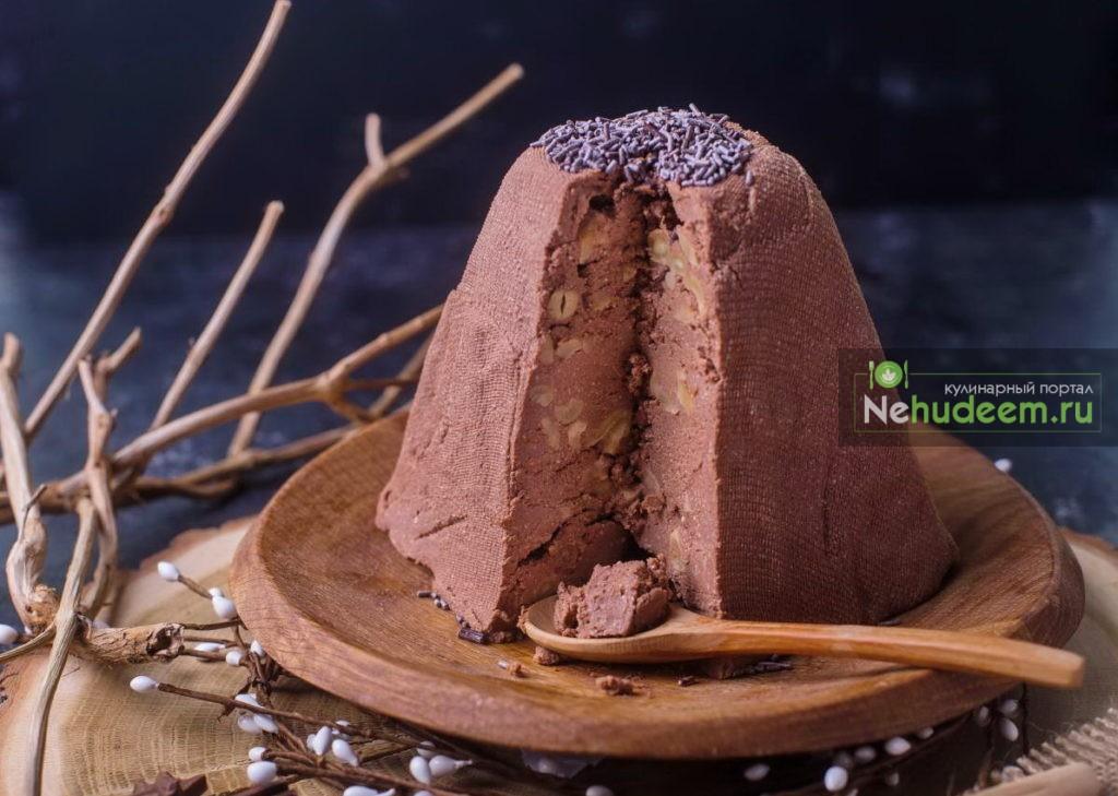 пасха творожна¤ заварна¤ с какао