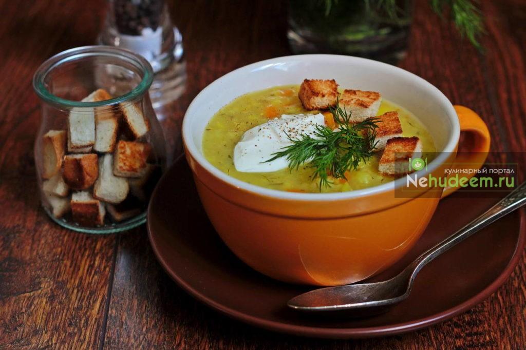 рецепт крупяных супов с фото