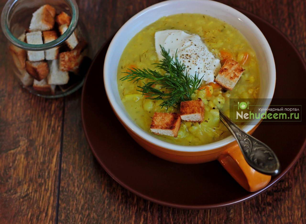 Рецепт крупяного супа
