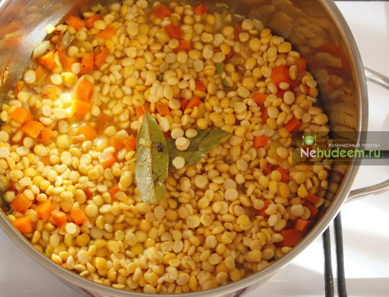 как готовить гороховый суп с курицей пошаговый рецепт с фото