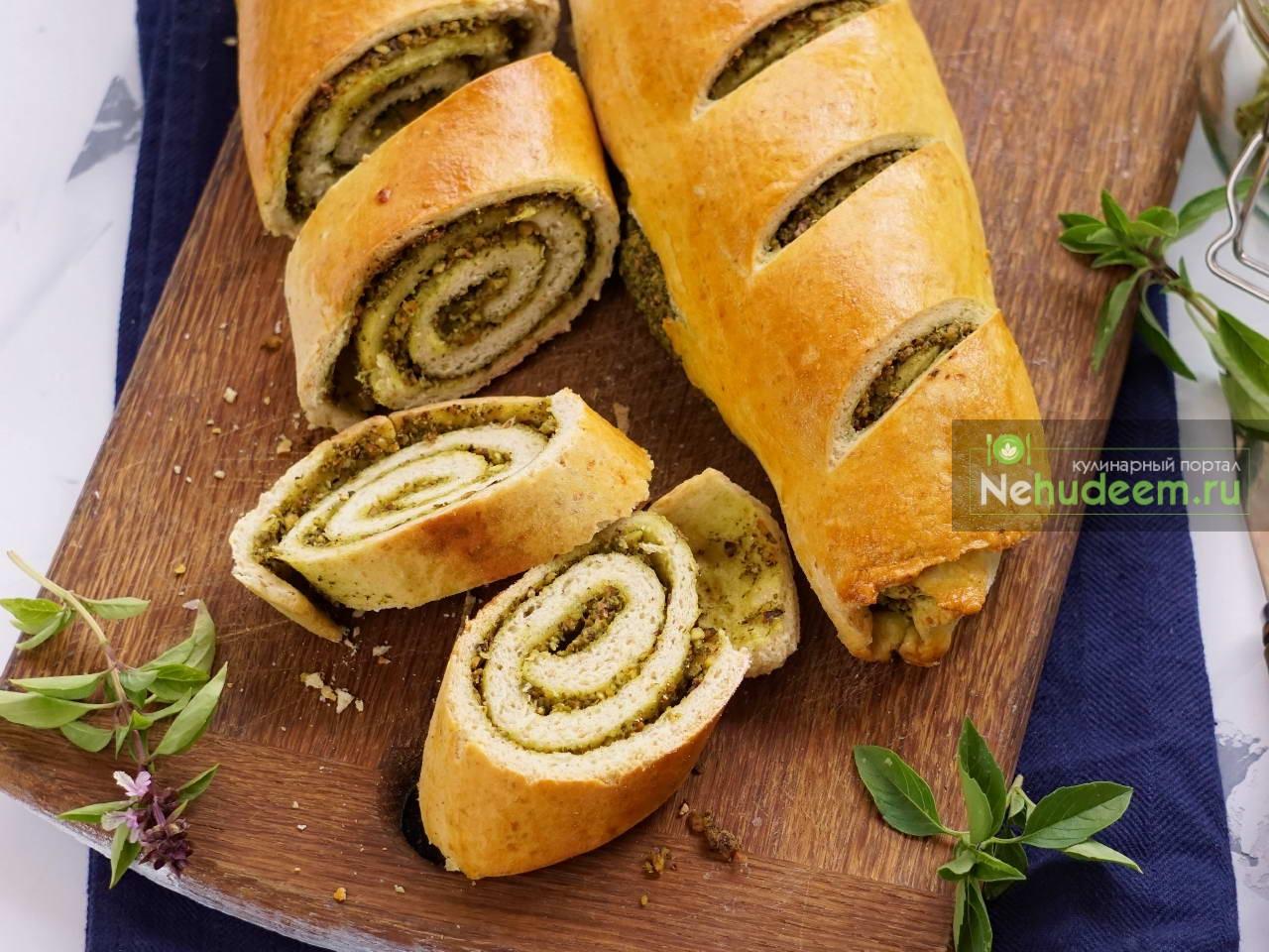 Итальянский хлеб с песто