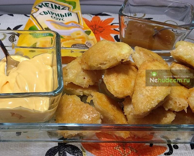 нагетсы в сырной панировке рецепт