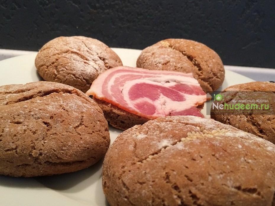 Пшенично-гречневые булочки
