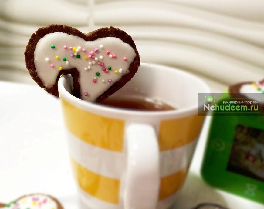 Печенье «Валентинка» на кружку