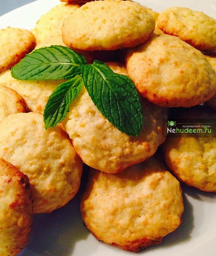 Хрустящее печенье с творогом - рецепт пошаговый с фото