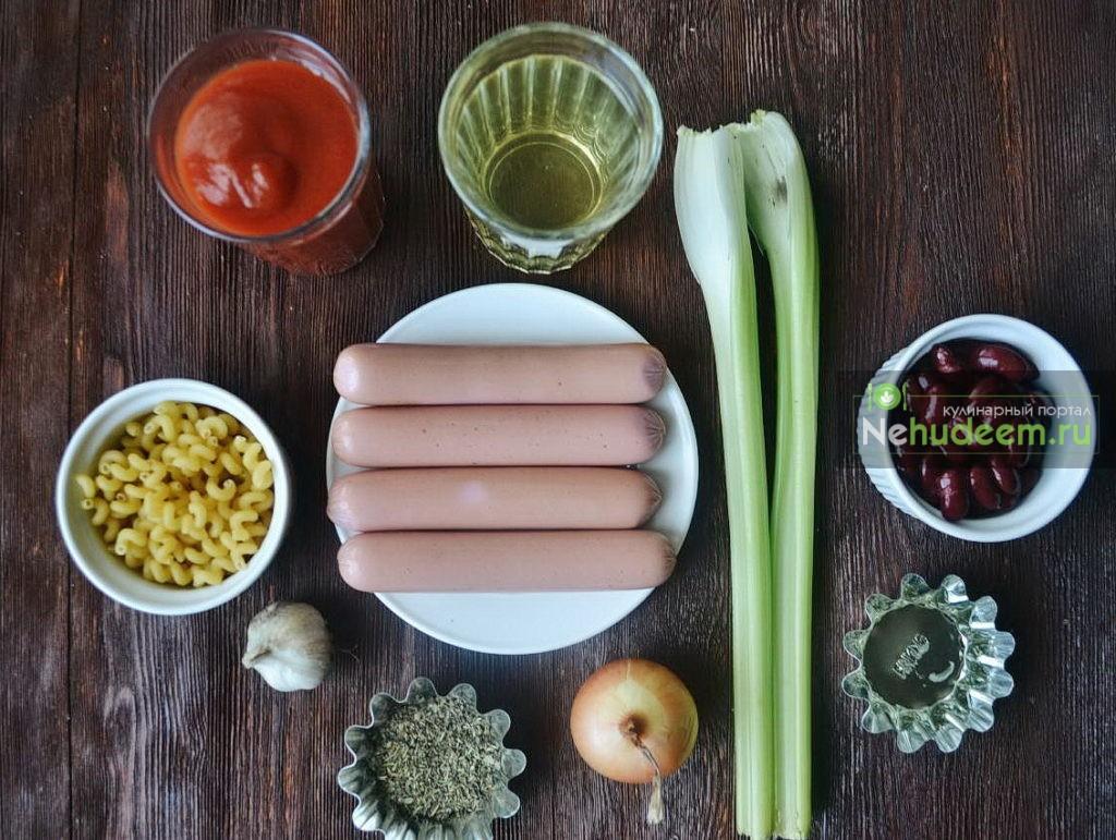 Картофельный суп с сосисками по-польски - рецепт пошаговый с фото