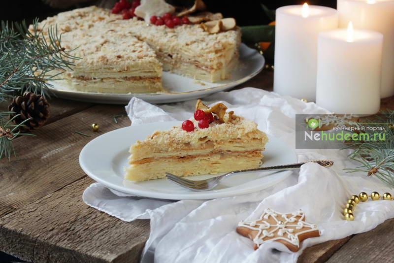Торт «Наполеон» на пиве