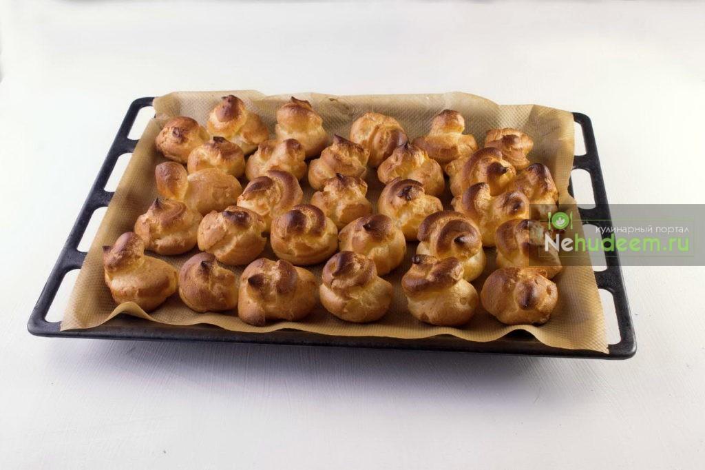 Начинка для профитролей из яблока и яиц - рецепт пошаговый с фото