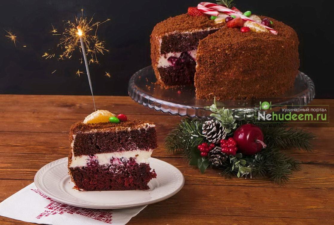 Торт «Красный бархат» в мультиварке